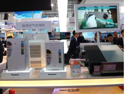 松下携多款创新产品亮相2018中国制冷展