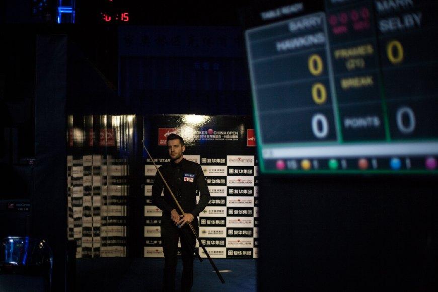 塞尔比提前锁定赛季末世界第一,奥沙利文本月冲击百万英镑纪录