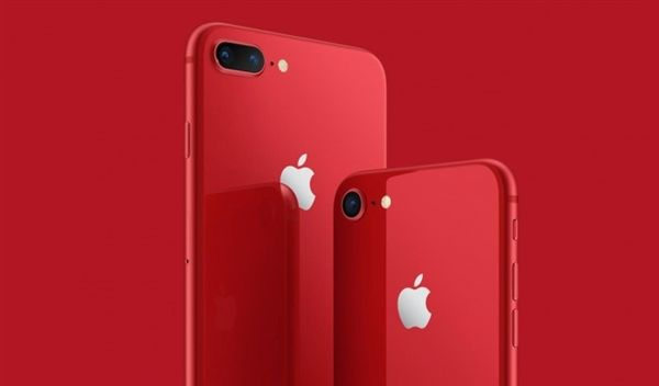 红色iPhone 8