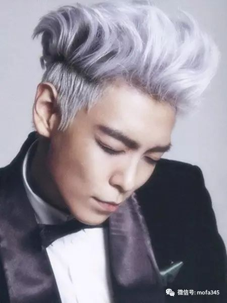 崔胜贤发色发型飞魅力,超有机头的!波波男士短发烫发图片图片