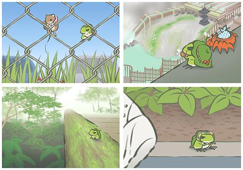 青蛙给玩家寄来的照片