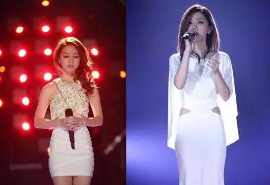 白色流苏裙子让台上是李玟气场全开,一条长开叉改良旗袍长裙也是美的图片