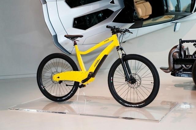 超跑品质 兰博基尼打造全新电动自行车