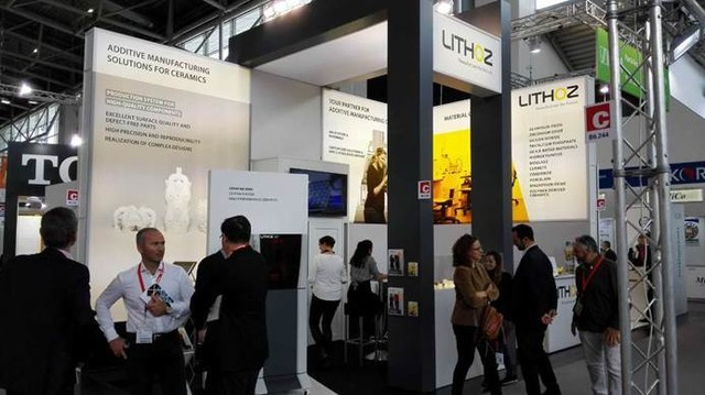 Lithoz联合6家合作伙伴参加Ceramitec展