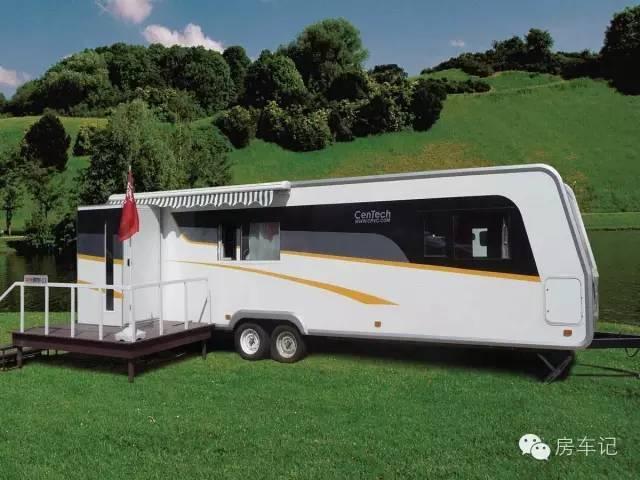 梦想房车之露营地拖挂套间,营地准用房车