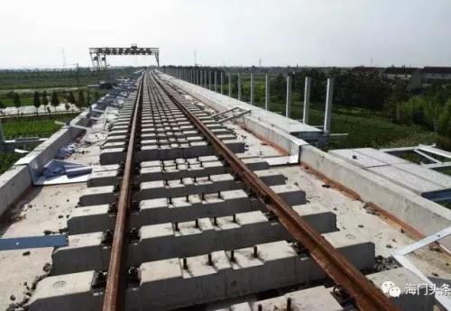 宁启铁路海门站月底前动工,计划年底投入使用!