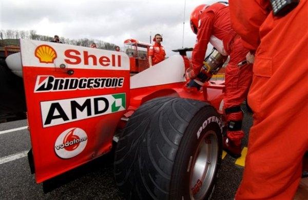 AMD雄起!时隔5年 重新赞助法拉利F1车队