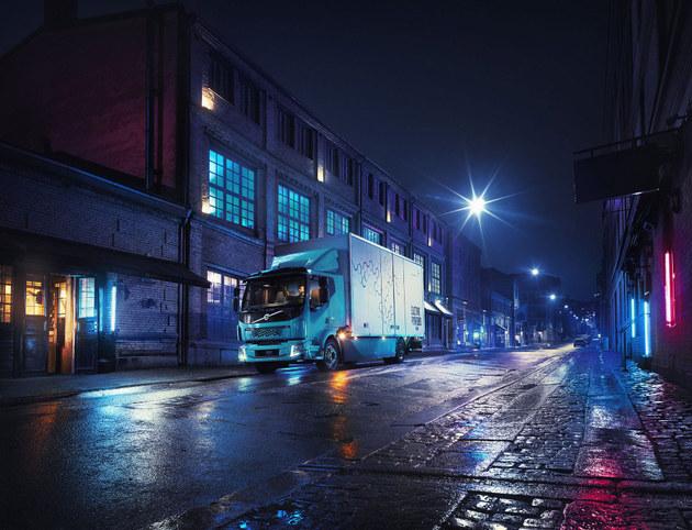 沃尔沃将推首款电动卡车 续航约300km