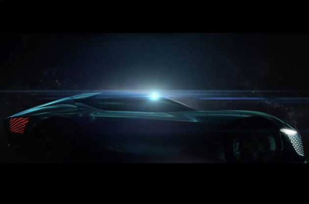 全新DS X E-Tense概念车 将北京车展亮相