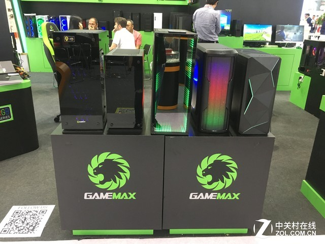酷炫!GAMEMAX品牌携新品亮相香港电子展