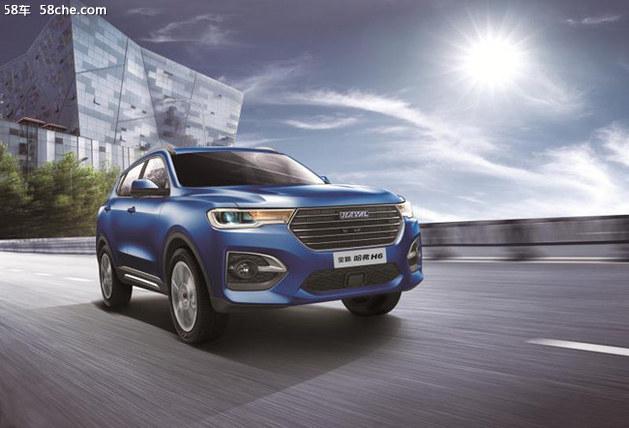 新哈弗H6豪华型/超豪型 将北京车展预售
