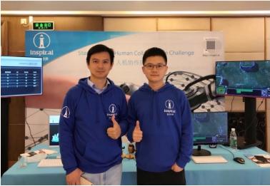 启元世界创始人兼CEO袁泉(左)与联合创始人兼CTO龙海涛(右)