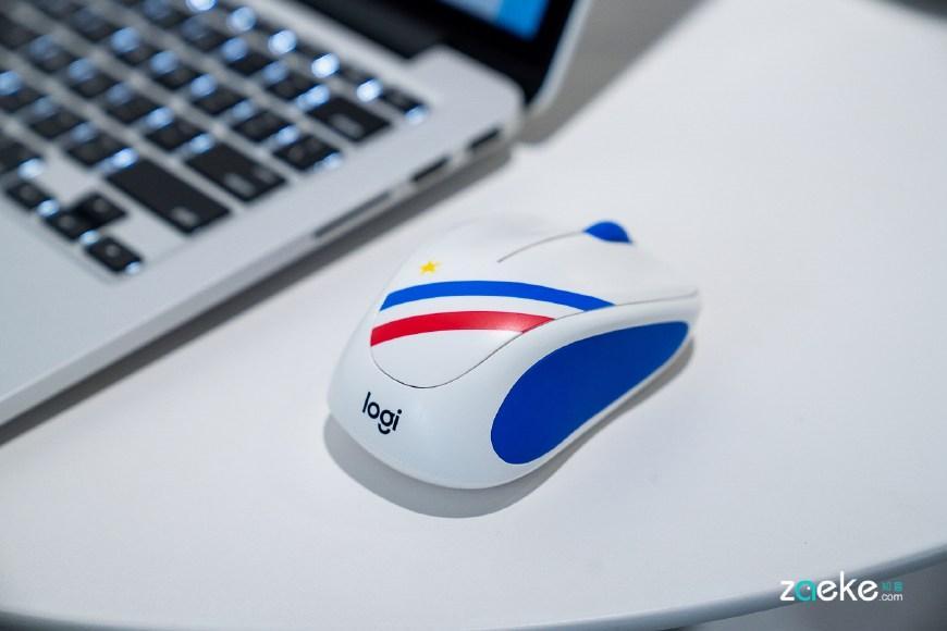 """罗技M238球迷典藏版无线鼠标,能让你把心爱球队""""握在掌中"""""""