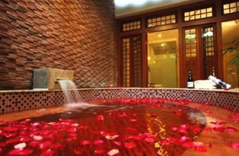 重庆的冬天 温泉和火锅更配哦