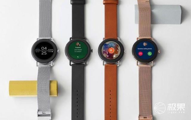 精致得不像智能手表,Fossil新品发布