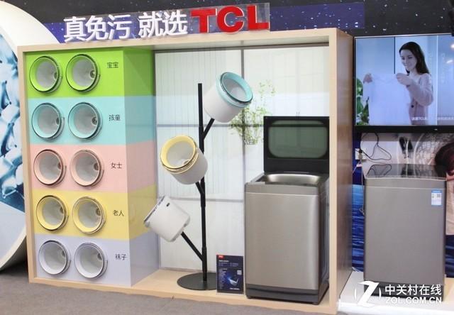 免污结构,解决洗衣机对衣物的二次污染问题;而专属小桶采用可分离设计