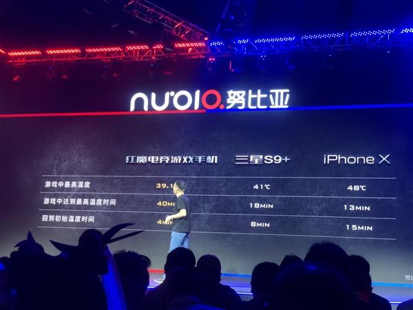 努比亚红魔游戏手机亮相:四大散热技术加持