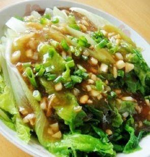 生菜和凉拌这样耗油吃,鲜嫩可口、清鲜润滑,连小黄米可以放糖吗图片