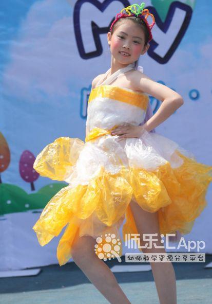 幼儿园环保时装秀,送走秀音乐