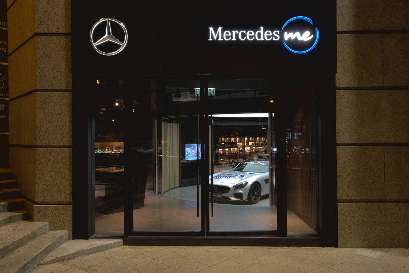 奔驰不认真卖车,又把体验店开到了上海