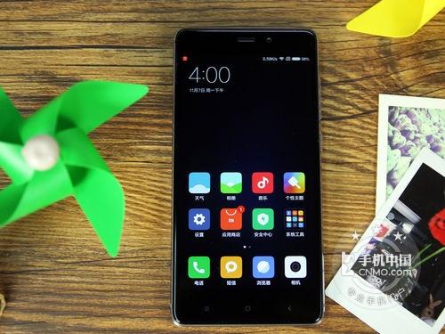 弧面玻璃八核旗舰 红米手机4仅售939元