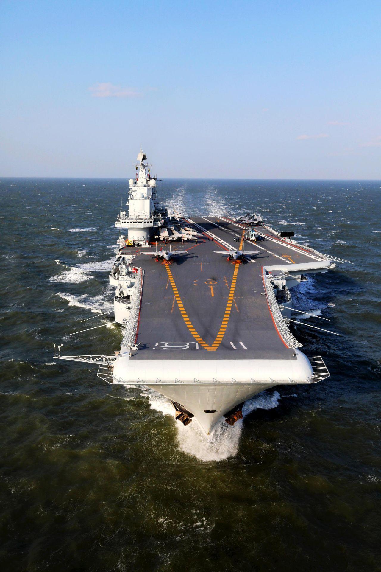 印度航母刚有点进展,中国航母就要海试,印军无奈说出这话!
