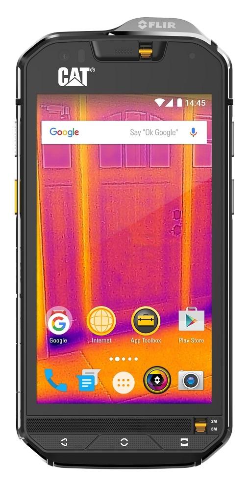 4999元!首款热成像手机Cat S60登陆中国:热量肉眼可见