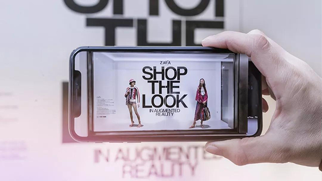 ZARA也推出AR购物,为何品牌们都热衷尝试AR技术