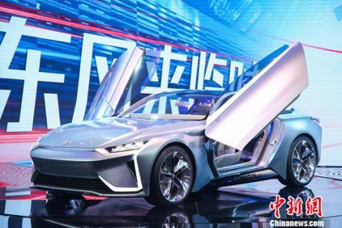 东风eπ新能源高性能轿跑概念车