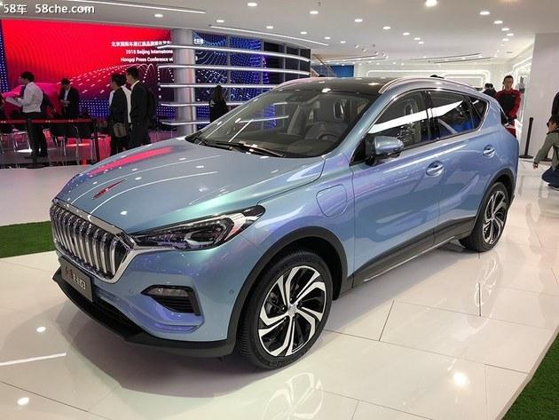2018北京车展 红旗E-HS3电动SUV发布