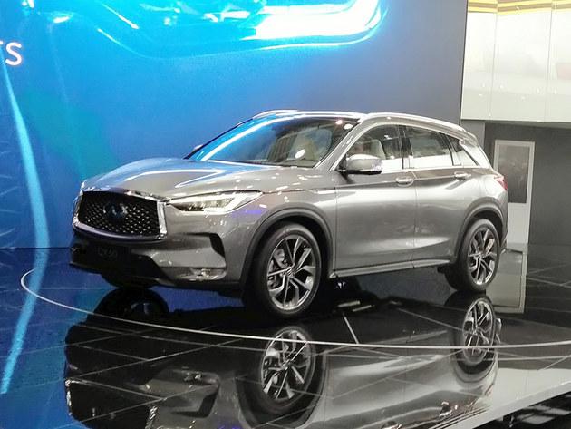 2018北京车展 新英菲尼迪QX50预售35万起