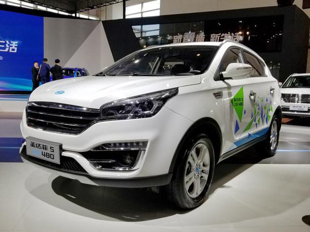 2018北京车展 华泰圣达菲5 XEV480亮相