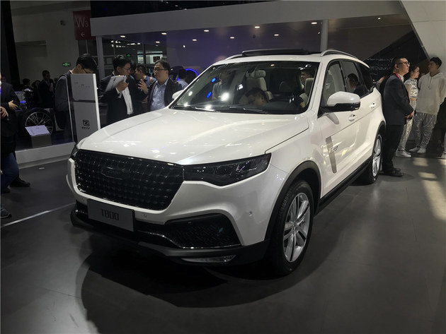 2018北京车展 众泰T800车型正式亮相