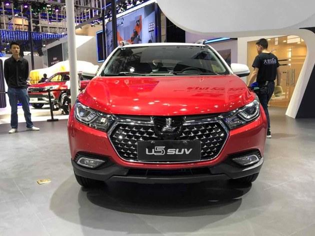 2018北京车展 纳智捷U5 SUV飞Young版