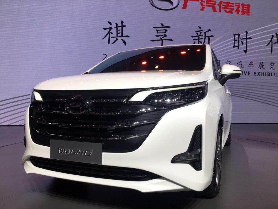 4月25日,北京车展上,广汽传祺旗下全新mpv gm6亮相,新车定位低于传祺图片