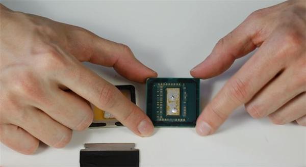 AMD Ryzen 5 2600开盖:钎焊够良心、改液金意义不大