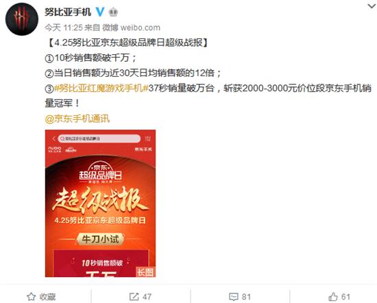 科客晚报:努比亚红魔电竞手机37秒破万台 中国联通推出eSIM联盟计划