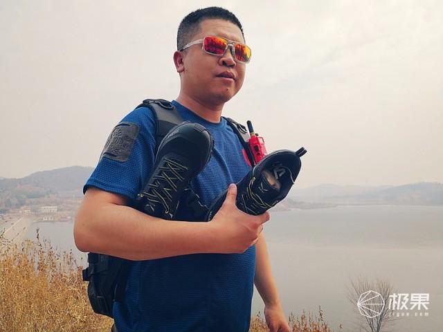 防滑耐磨透气护脚,这鞋让你无惧户外越野跑—沙乐华越野鞋体验