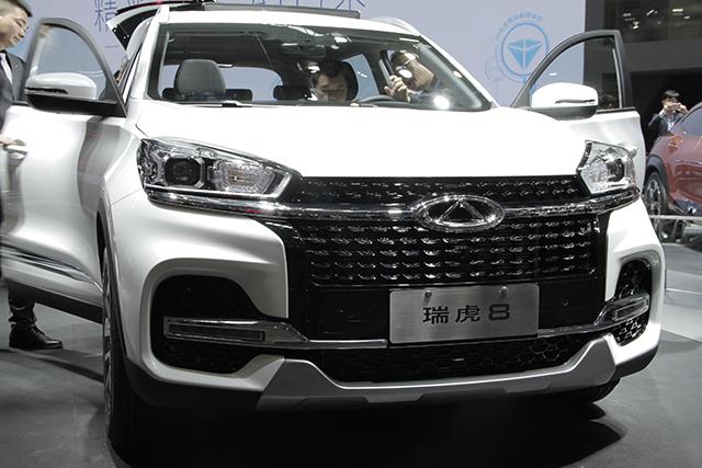 ,北京车展体验奇瑞瑞虎8