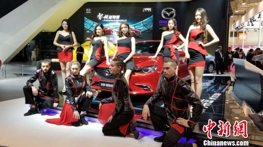 新能源科技新车亮相2018青岛国际车展(图)