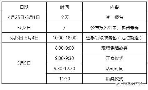 活动时间:2018年5月5日9:30-12:30 活动地点:双岛湖御园 项目设置:男