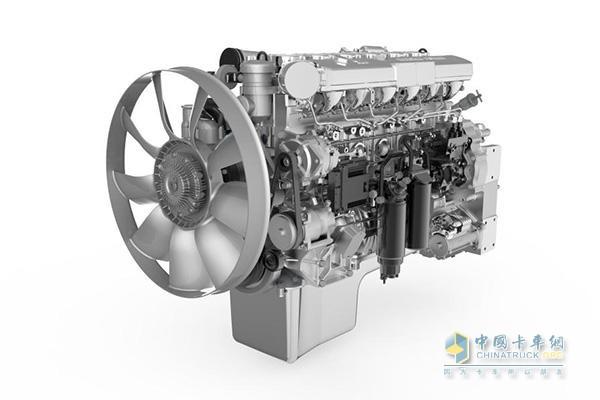 东风柳汽乘龙H5搭载的潍柴发动机