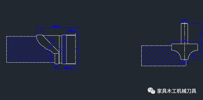 65个木工刀具CADv立轴立轴,铣刀图纸和镂铣刀平面设计写什么案例图片