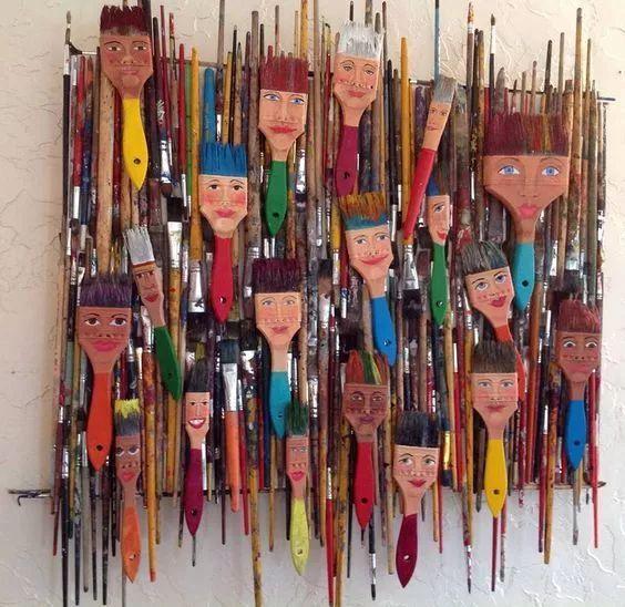 幼儿园创意美术环创