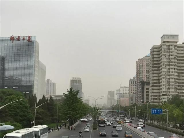 说来就来!仅2小时 北京空气污染升至6级