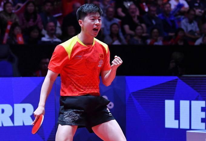 国乒第21冠稳了!马龙3