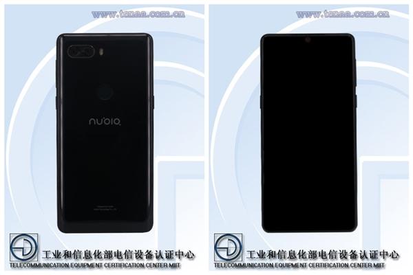 努比亚全面屏3.0旗舰宣布:骁龙845+8G内存