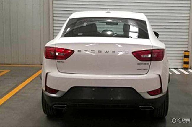 宝沃BX6车型将于5月9日上市 定位轿跑型SUV
