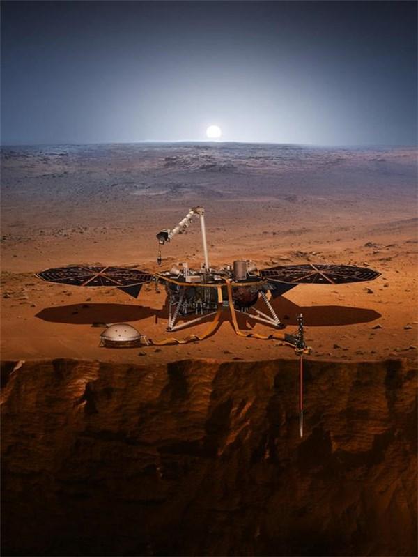 """""""洞察号""""火星探测器已离开地球,下一步将做什么?"""