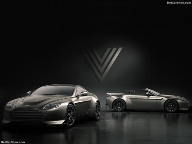 阿斯顿·马丁V12 Vantage V600官图发布